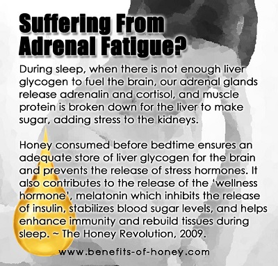 honey diet for adrenal fatigue image