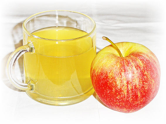 apple cider vinegar and honey image