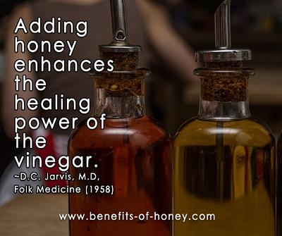 Vinegar and Honey Remedy