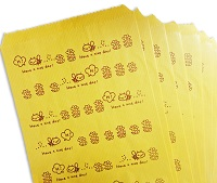 bee design paper bags image