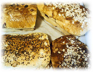baking bread image