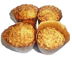 banana muffins image