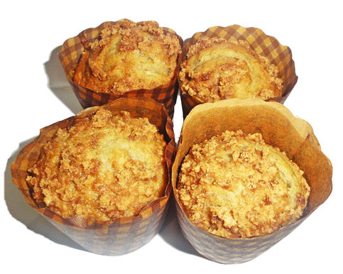 honey banana muffin image