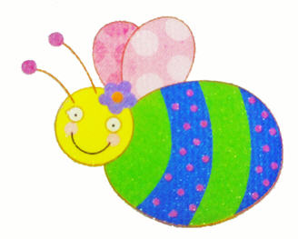 bee sticker image