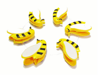 bee paper clip image