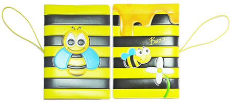 bee passport holder image