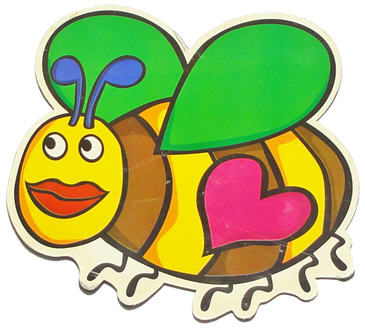 bee magnet image