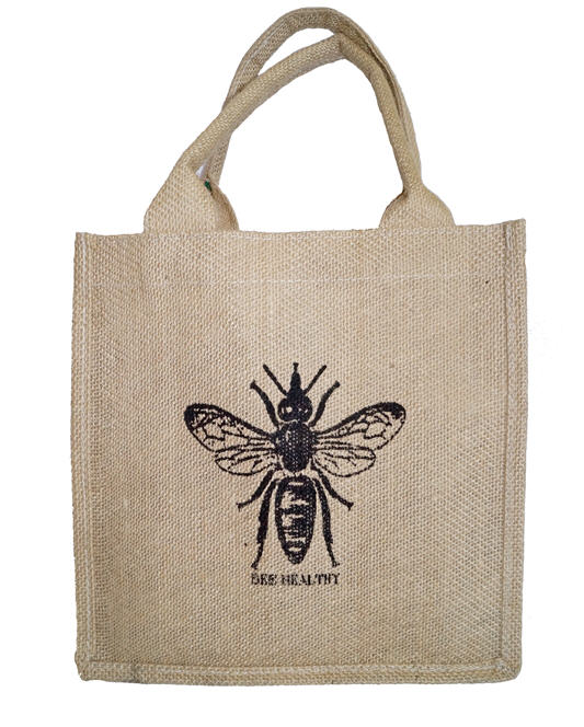 Excellent Bee Healthy Jute Bag VO33