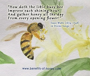 bee painting image