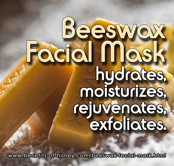 beeswax facial mask recipe poster image