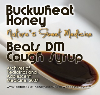 buckwheat honey poster image