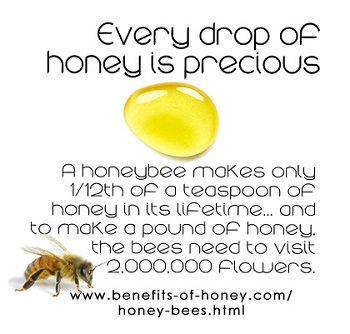 every drop of honey is precious