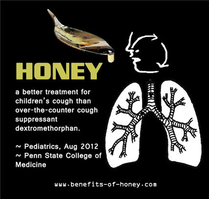 honey as cough medicine poster image
