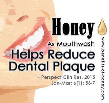 honey prevents dental plague image