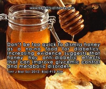 honey in diabetic diet image