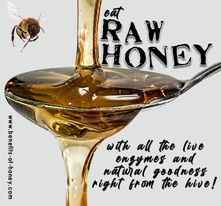 raw honey is best image