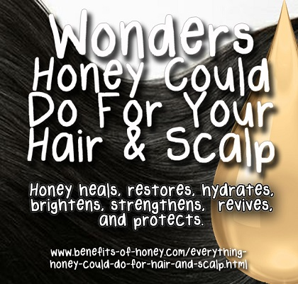 4 Wonders of Honey For Hair And Scalp image