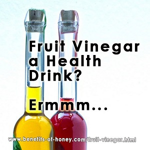 fruit vinegar on the rise poster image