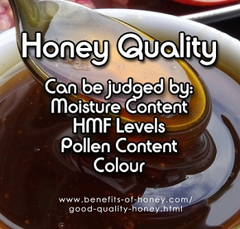 good quality honey image