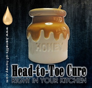 honey as head to toe remedy image