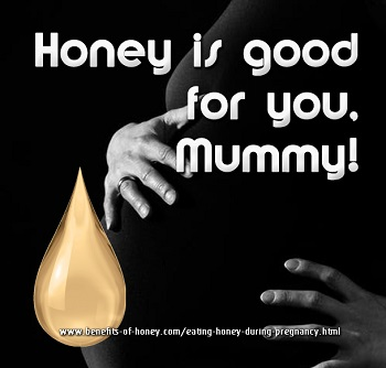 eating honey during pregnancy image