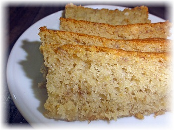 honey banana cake recipe image