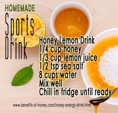 honey energy drink image