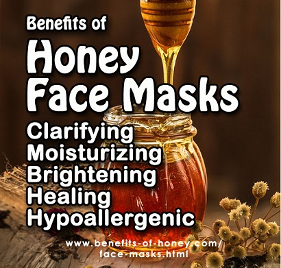 honey face mask image
