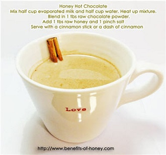 hot chocolate recipe poster image