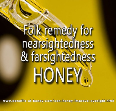 can honey improve eyesight image
