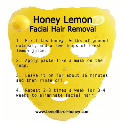 honey lemon mask image