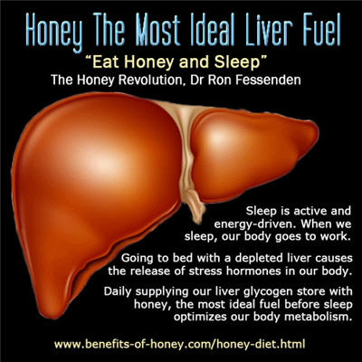honey liver care poster image