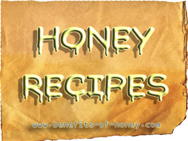 honey recipe poster image