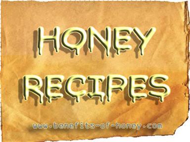 honey recipe poster image
