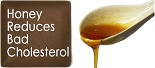 honey reduces bad cholesterol image