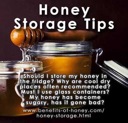 honey storage tips image
