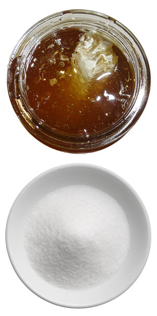 honey vs sugar image