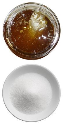 honey vs sugar image