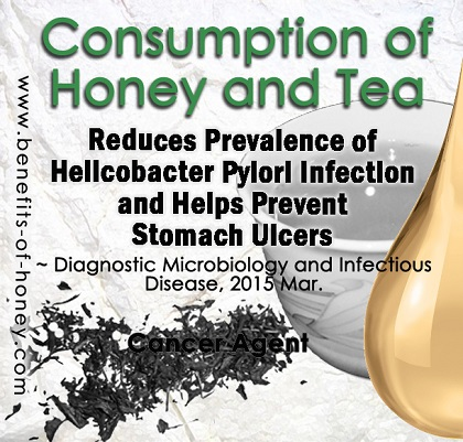 honey and tea image