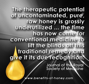 honey and tea poster image