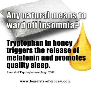 honey treats insomnia image