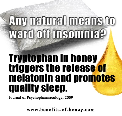 honey treats insomnia image