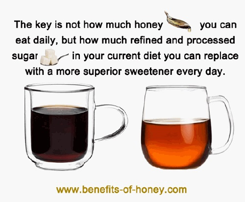 how much honey can I eat image