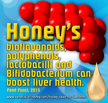 honey for liver health image