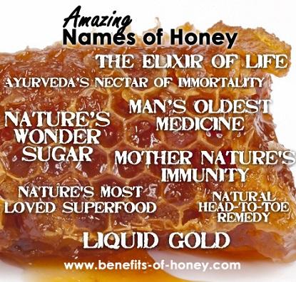 names of honey image