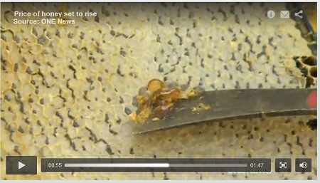New Zealand honey shortage image