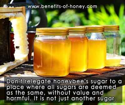 honey is not just sugar image