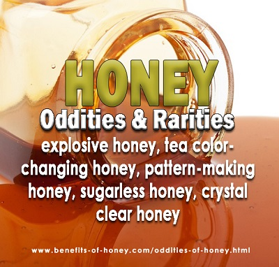 odditiies and rarities of honey image