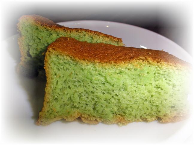 pandan cake image