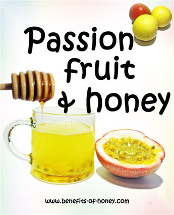 passion fruit and honey drink image